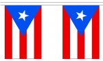 PUERTO RICO BUNTING - 3 METRES 10 FLAGS